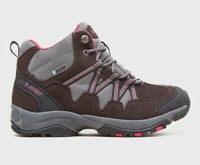 Hi-Tec Women's Florence Mid Waterproof Walking Boots Shoes UK Size 7 RRP £80.00