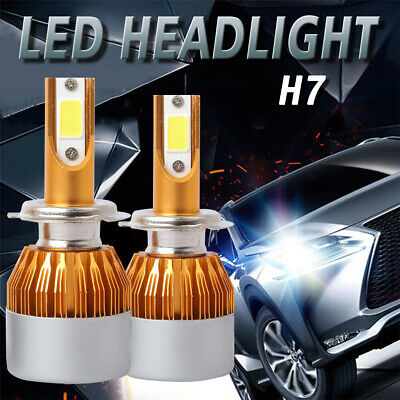 H7 12V 55W Super White Bulbs Headlight Replacement Aslo Can Fit Fog Light D191