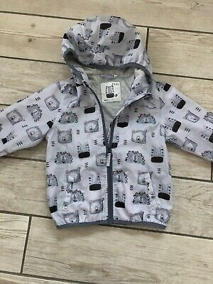 Next Girls Raincoat Age 1.5-2 Years Jacket Cagoule Pac a Mac Cag in a Bag