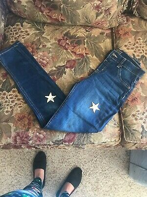JUSTICE Mid Rise Jeggins Girls Size 16