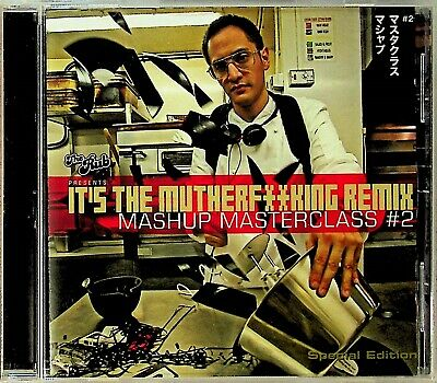 THE RUB, MASHUP MASTERCLASS It's Mutherf**King Remix 2 CD JAPAN Jay-Z Radiohead
