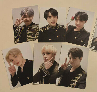 Official BTS Speak Yourself The Final Memorial Label Tag Photocard