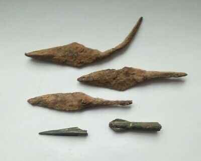 Ancient Artifacts Of The Greek Empire. Arrowhead.