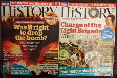 BBC History - Britains Best Selling History Magazine  -  Two Magazines