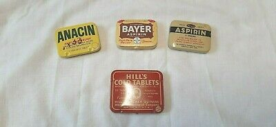 Tin Lot Bayer Asprin