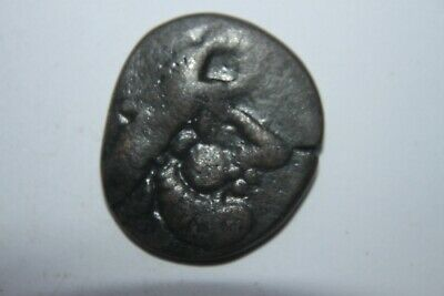 LARGE BRONZE ANCIENT CELTIC STATER/TETRADRACHM 2/1st CENTURY BC