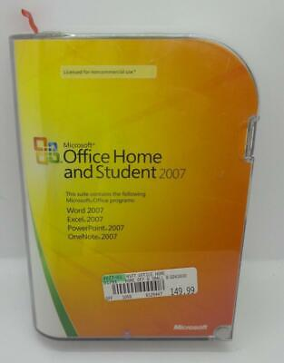 Microsoft Office 2007 Home and Student Word Excel PowerPoint OneNote + Key