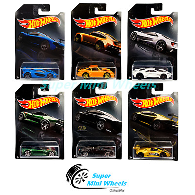 Hot Wheels 2020 Walmart Exclusive H Case - Exotics Assortment 6 Cars Set