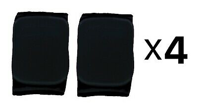 Martin Sports Volleyball Basketball Knee Pads Black Medium 1 Pair (4-Pack)