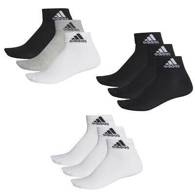 6 Pair adidas Performance Trainers/Quarter Socks Size 35 - 54 Unisex short Sock