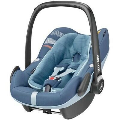 Maxi Cosi Pebble plus Frequency Blue Carry Cot New