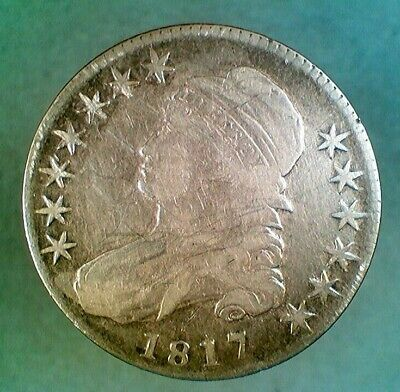 1817 Capped Bust Silver Half Dollar (003)