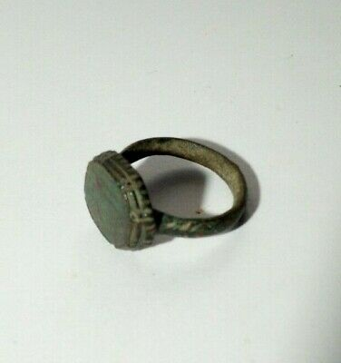 Ancient Artifacts Of The Byzantine Empire. Ring.