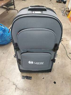 Laerdal Training Manikin Large Rolling Suitcase Carrier Case Medical Torso