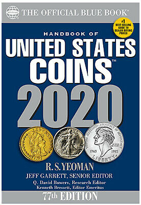 Whitman's Official Blue Handbook of United States Coins 2020 - Paperback Book