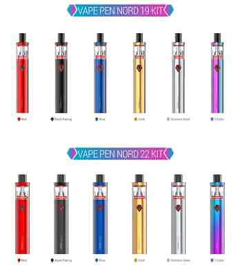 Genuine Smok Nord Pen 19 Kit Smok Nord Pen 22 Starter kit
