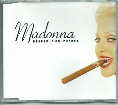 MADONNA Deeper And Deeper  6 TRACK GERMANY REMIX CD SINGLE