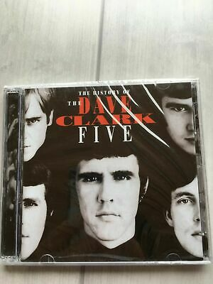 DAVE CLARK FIVE - History of the Dave Clark Five [CD, Aug-1993, 2 Discs]