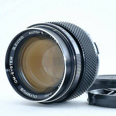 """N-Mint"" OLYMPUS G.ZUIKO AUTO-S 55mm f/1.2 Super Fast Lens from Japan 135696"