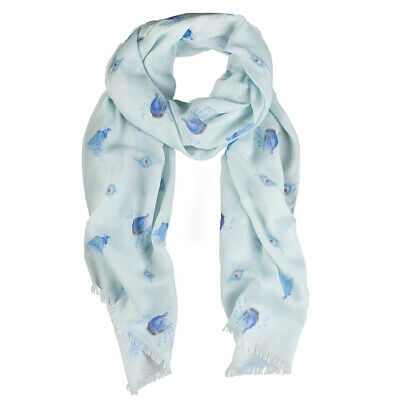 Wrendale Designs - 'Practically Perfect' Peacock Scarf
