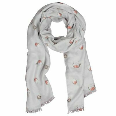 Wrendale Designs - 'The Jolly Robin' Scarf