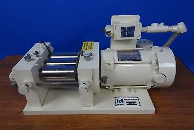 Charles Ross 2.5 x 5 T.R.M Three Roll Mill Ointment Ink Paint Mill- Excellent