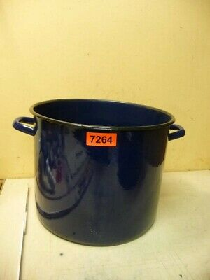 7264. Alter Emaille Email Topf old email pot