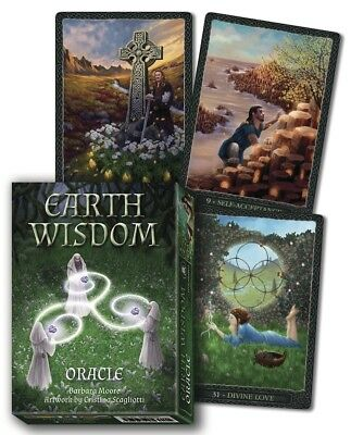 EARTH WISDOM ORACLE Tarot Kit Card Deck Cards Book Boxed Set wicca pagan witch