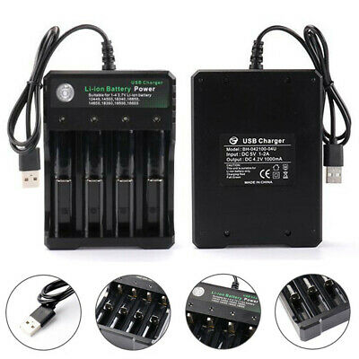 18650 NI MH C AA AAA Battery charger, Home Or Travel, Mains