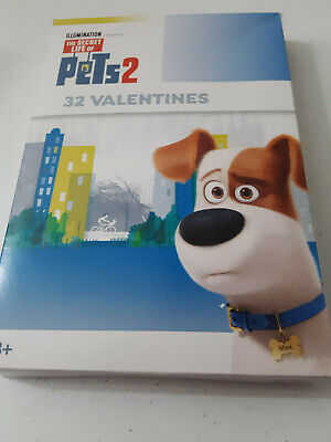 VALENTINES DAY ~ 32 The Secret Life of Pets 2 Cards Kids School Gift Exchange