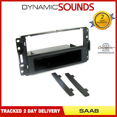 FP-006 CD Radio Stereo E Pocket Black Facia Fascia Panel Surround SAAB 9-3 9-5
