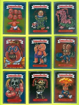 47 of 50 2003 Topps Garbage Pail Kids All-New Series 1 GLOSSY SILVER FOILS