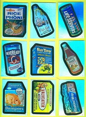 9 of 10 2006 Topps WACKY PACKAGES All-New Series 4 FOILS