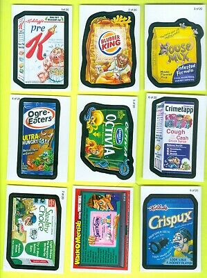 COMPLETE Set of 20 2010 Topps WACKY PACKAGES All-New Series 7 Wack-O-Mercials