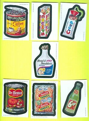 Lot of 7 ALL DIFFERENT 2006 Topps WACKY PACKAGES All-New Series 4 MAGNETS