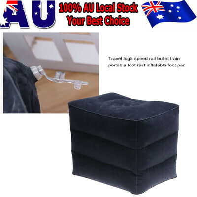 2020 Inflatable Foot Rest Travel Air Pillow Cushion Leg Footrest Relax Kids Bed