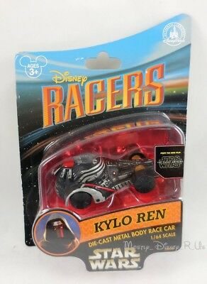 New Disney Store Star Wars The Force Awakens Collector Kylo Ren Diecast Race Car