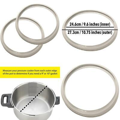 Impresa 9 Inch Fagor Pressure Cooker Replacement Gasket Pack of 2 Fits Many