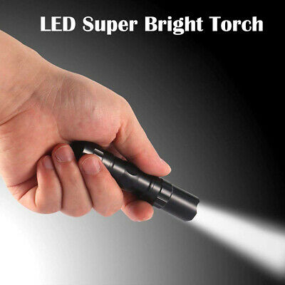 Tactical LED Flashlight Military Grade Torch Small Super Bright Handheld Light