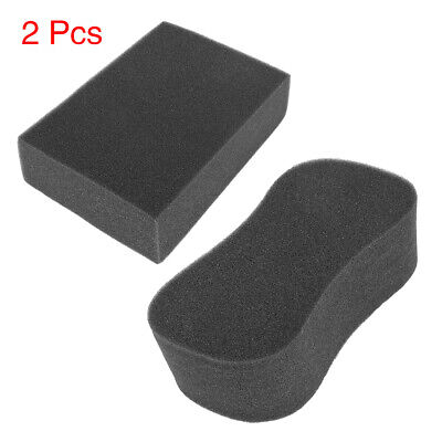 2pcs Car Rectangle 8-Shaped Multi-Functional Cleaning Washing Sponges Care Tool
