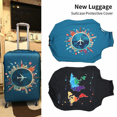 """22""""-32"""" Travel Protective Luggage Suitcase Dust Cover Protector Anti Scratch AU"""