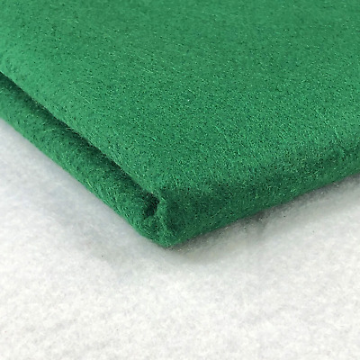 Bottle Green 100% Acrylic Felt Baize Fabric Poker Card Tables 60 inches Wide