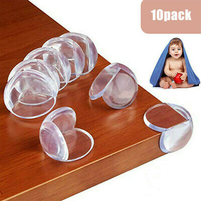 4 Baby Proofing Safe Glass Desk Table Edge Corner Cushion Guard Protector Bumper