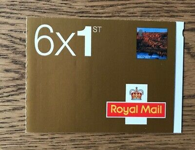 Royal Mail first class (6 X 1st) stamp booklet 2004 Northern Ireland
