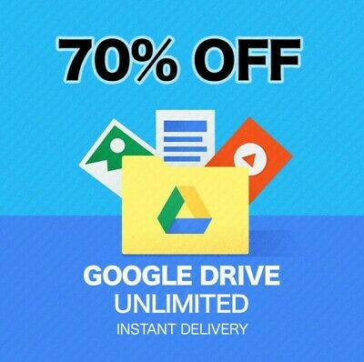 Google Drive Unlimited On Existing Google Account (Buy 1 Get 1 Free ) Lifetime