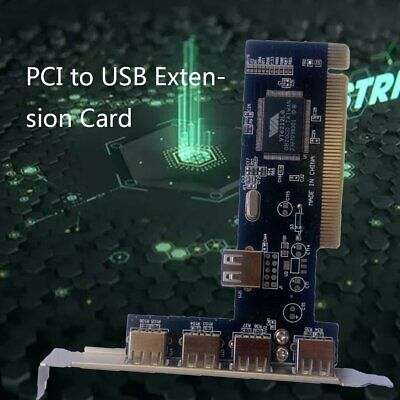 5 Ports USB 2.0 hub to PCI-E PCI Express Card Adapter Usb Expansion Extender WR