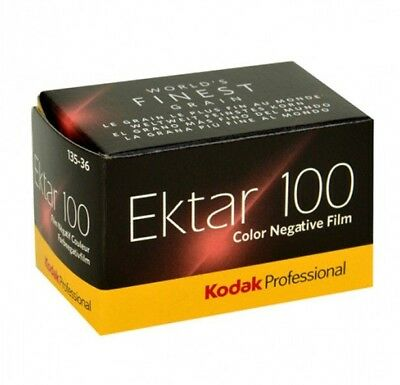 5 Rolls KODAK EKTAR 100iso 135 Color Print 35mm 36exp 100iso Film 2021 Fresh