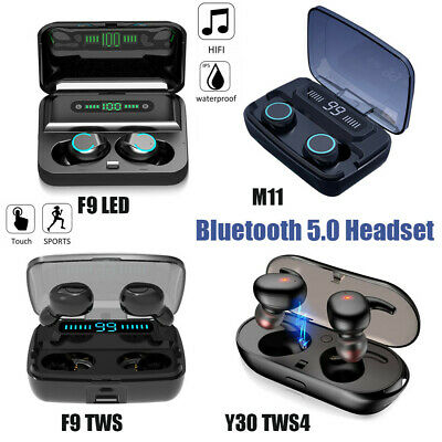 TWS4 Bluetooth 5.0 Earbuds Wireless Headphones Earphones For iphone Android US