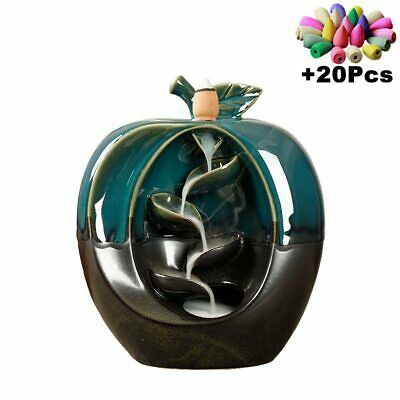 """Painted Wood Wooden Apple Shaped Box Standard Size   2 3//4/"""" x 2 3//4/"""""""