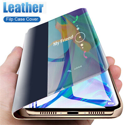 For Huawei P30 P20 Pro Mate 20 Lite Smart View Window Leather Flip Case Cover